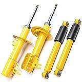 4 ammortizzatori sportivi a gas posteriori e anteriori e protezione anti-polvere