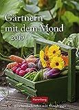 Gärtnern mit dem Mond - Kalender 2019: Wochenkalender mit Mondtipps - Victoria von Thalberg