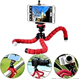 #5: AVMART Mini Flexible Sponge Octopus Stand Tripod Mount for Support All Kinds of Mobile Phone Models Under 5.8 inch (Well fits iPhone 6, 6 Plus 5 5S 5C, Samsung, etc Camera Video