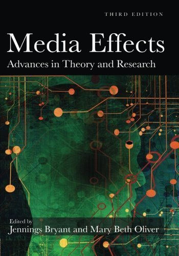 Media Effects: Advances in Theory and Research (Routledge Communication Series) by Bryant, Jennings Published by Routledge 3rd (third) edition (2008) Paperback