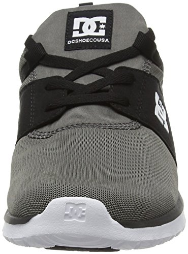 DC Herren Heathrow Low-Top Grau (Grey/Black/Green - XSKG)