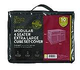 The Garden & Home Co 44-Sitzer-Cube Set, grün