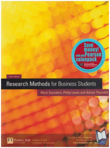 Value Pack: Research Methods for Business Students with Researching and Writing a Dissertation for Business Students: AND Researching and Writing a Dissertation for Business Students
