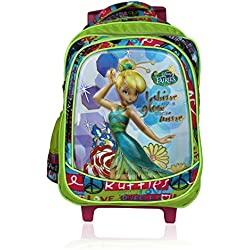 Disney School Trolley Bag For Girls 07+ Years Faries Glow with shine 24 (L) Mix (At-0017)