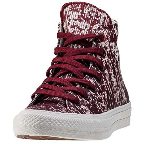 Converse Chuck Taylor All Star II High Sneaker, Montantes Mixte Adulte Rouge/bca
