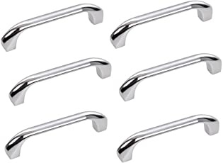 HOMEPRODUCTS4U DURGA DRAWER OR CABINET HANDLES PACK OF 6 WITH BOLTS (4INCH)
