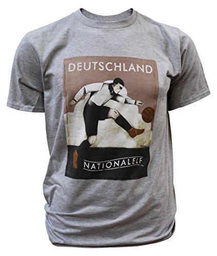 Paine Proffitt Camiseta de Alemania, Color Gris, tamaño XX-Large