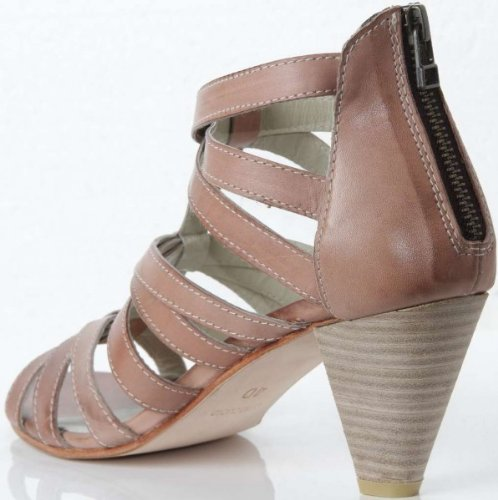 ILSE JACOBSEN Schuhe Sandalette Pumps 27 Crystal Sabbia 101 Braun