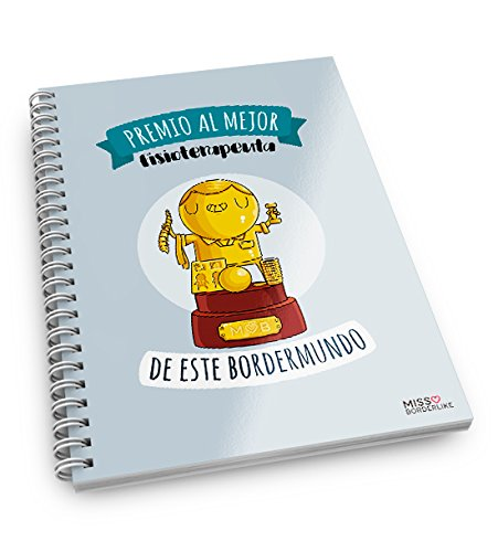 Missborderlike - Cuaderno anillas -Premio mejor fisioterapeuta