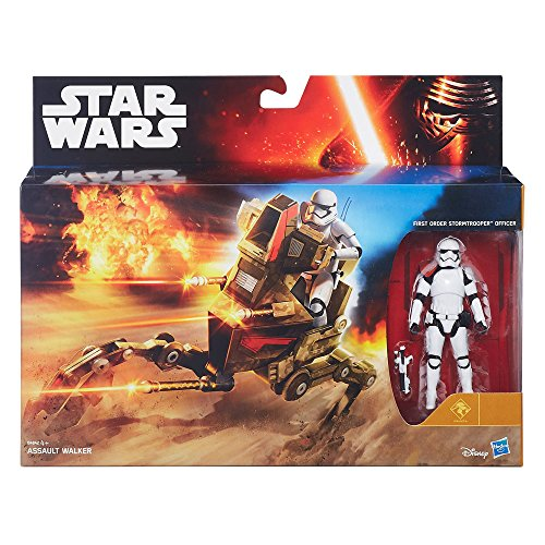 Star Wars Episode VII Fahrzeug mit Figuren: Assault Walker Exclusive