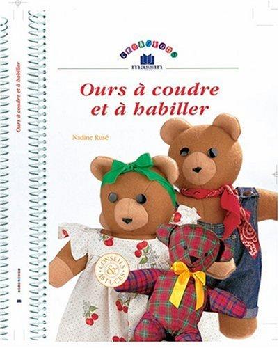 Des ours à coudre et à habiller