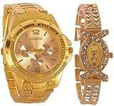 Fighter Rosra Gold dial Men's watch & Rh...