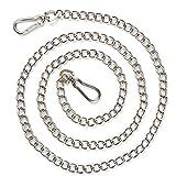 DLwbdx Edelstahlkette, großer Hundehalsband, Hundekette, Eisenkette, Durchmesser B 2,5 mm