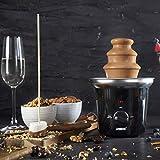 Princess Schokoladenbrunnen - für jede Schokolade und Karamell mit Schmelz- und Fließfunktion, 292994 - 10
