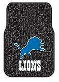 NFL Detroit Lions Two-Pack Front Car Floor Mat