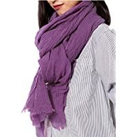 Prettystern - 220 cm di lunghezza sciarpa XXL 100% lana
