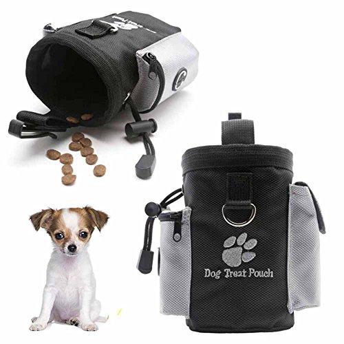 UKCREATIVE Outdoor Pet Hunde Leckerli Futter Tasche Hund Training behandeln Taschen Tragbar Hund abnehmbare Pet Feed Tasche Tasche Puppy Snack Belohnung Taille Tasche perfekt für Walking Pet behandeln Tasche