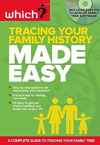 Tracing Your Family History Made Easy (includes Starter Pack CD-Rom of family tree software) (Made Easy Series) by Consultant editor: Nicola Lisle (2011-11-30)