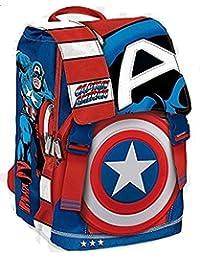 Preisvergleich für Franco Cosimo Panini Veröffentlicher 54221Rucksack Captain America komplett