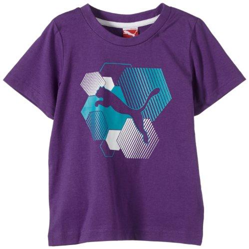 Royal Purple T-shirt (Puma Jungen T-Shirt Td Tee Royal Purple 164)