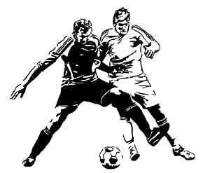 Autocollant Stickers Muraux Sticker Mural Football Duel