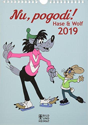 Nu, pogodi! 2019: Hase und Wolf. Wandkalender