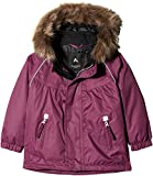 NAME IT Baby-Mädchen Jacke Nitpowder Jacket MZ G FO, Violett (Prune Purple), 98