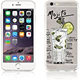 Coque iPhone 6 Coque iPhone 6s silicone transparente | JammyLizard | Coque silicone transparente résistante pour iPhone 6 6s, Recette Mojito