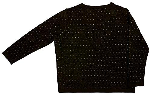 VITIVIC Baby - Mädchen Pullover Gr. 176, schwarz Jersey Nylon Pullover