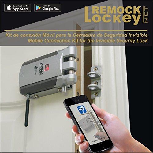 Remock Lockey Net - Kit de conexión móvil para la Cerradura Invisibles Remock Lockey (versión con antena exterior)