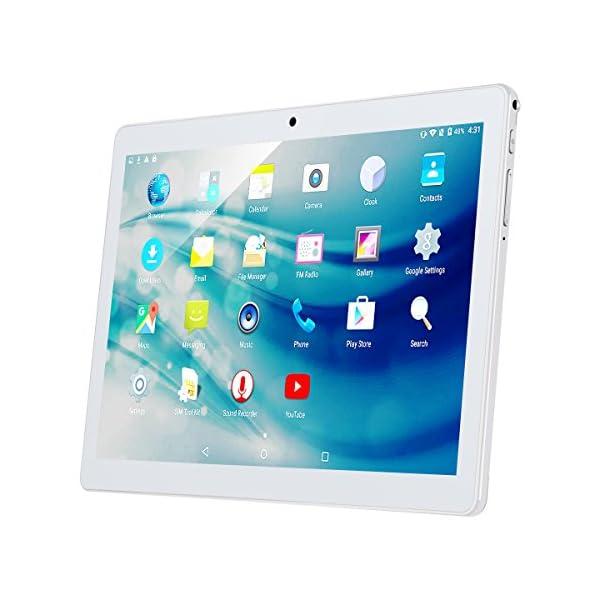 10.1 Inch Android Tablet PC, Qimaoo 2GB RAM 32GB Storage Phablet Quad Core 5199w GRZ L