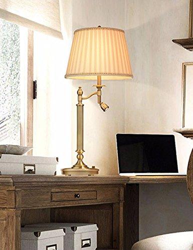 CJSHV-amerikanische stil führte lesung kupfer - lampe, europäische kontaktlinsen - dekorativen lampe, bett und schlafzimmer, schreibtisch, lampe