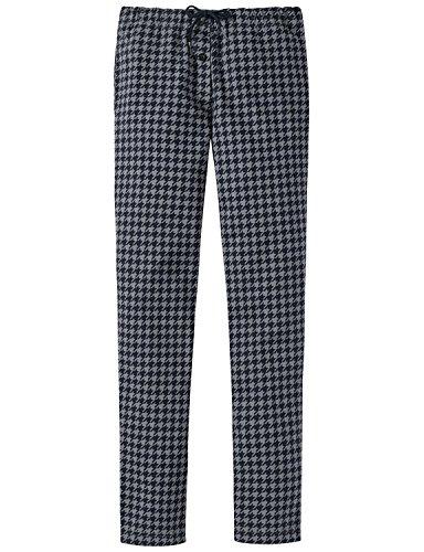 Schiesser Mädchen Schlafanzughose Mix & Relax Jerseypants, Blau (Nachtblau 804), 152 (Herstellergröße: S)