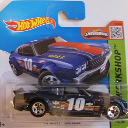 Chevelle Hotwheels Chevy 70 (Hot Wheels ´70 CHEVY CHEVELLE, schwarz)
