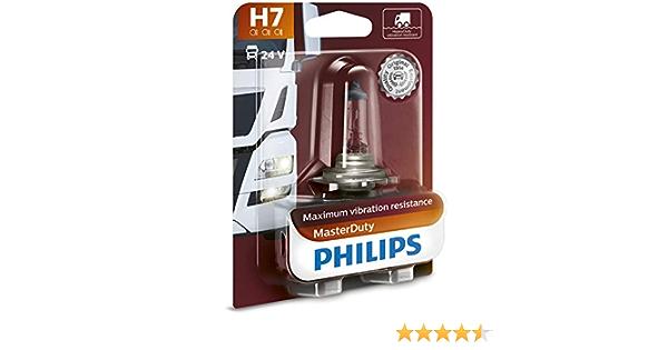Philips Masterduty 24v H7 Scheinwerferlampe Bürobedarf Schreibwaren