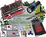 qm basic XXL ADVENTSKALENDER Werkzeug 2018 FEINE MÄNNER 92 Teile Schraubendreher Bit Set ü5ü 505