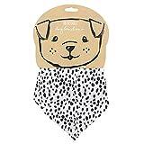Something Different Hunde-Bandana mit Dalmatiner-Muster (Einheitsgröße) (Schwarz/Weiß)