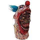 Generique - Maske Clown blutrünstig für Erwachsene