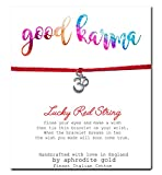 Good Karma Om Roter Schnur Freundschafts-Armband Glücksbringer