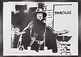 Póster V De Vendetta Grafiti Hecho A Mano - Handmade Street Art - Artwork