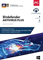 BitDefender Antivirus Plus Latest Version (Windows) - 1 User, 1 Year (Email Delivery in 2 hours - No CD)