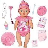 Baby Born - Muneca interactivo, color rosa (Bandai 815793)