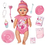 Zapf Creation Baby Born - Muñeca niña, color rosa (Bandai 815793)