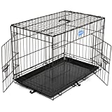 Songmics Dog Puppy Cage Foldable Metal Pet Carrier for sale  Delivered anywhere in Ireland