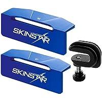 SkinStar File Guide Race Set Alu-Kantenwinkel Feilenwinkel 87°-86° mit Feilenklammer