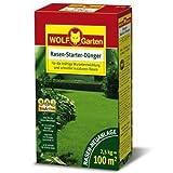 WOLF LH 100 Rasen-Starter-Dünger für 100qm | 2,5kg Multidünger