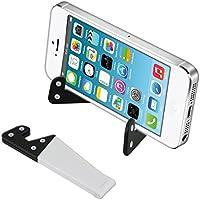 kwmobile Supporto universale per smartphone e tablet in bianco nero