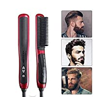 DZBMY Hair Straightening Brush Men