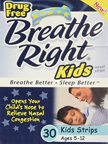 Kids Nasal Strips - 30 ct,(Breathe Right) -