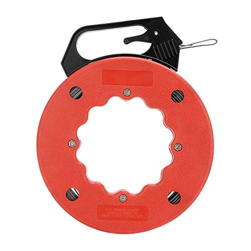sourcingmap® 66 Fuß (20 m) Elektrische Fische Tape Reel, Pull Kommunikation Kabel Line